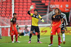 Action ln Thai Premier league 2013 Royalty Free Stock Photos