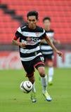 Action ln Thai Premier league 2013 Stock Images