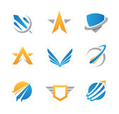 Action logo and icon. Enjoy Royalty Free Stock Photo