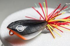 Action lure for sport fishing game Stock Images
