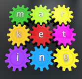 Action marketing concept Stock Image