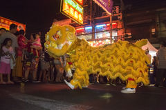 Chinese New Year Celebrations - Bangkok - Thailand Stock Image