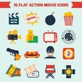 Action movie set