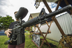 Action paintball Royalty Free Stock Photos