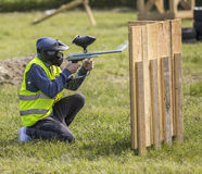 Action paintball Royalty Free Stock Photo