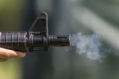 Action paintball stock photography