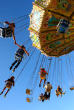 Action Photo Of Carousel Stock Image