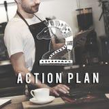 Action Plan Active Business Inspiration Vision Concept Stock Photos