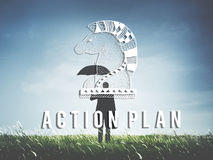 Action Plan Active Business Inspiration Vision Concept Royalty Free Stock Images