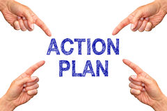 Action plan Stock Photos