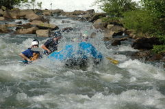 Action Rafting Royalty Free Stock Photos