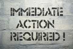 Action required Royalty Free Stock Photos