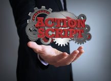 Action script Royalty Free Stock Photos