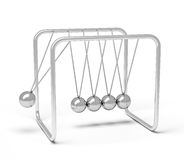 Action sequrence concept background - Newton's cradle executive Stock Image