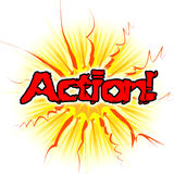 Action Sign Means Do It And Acting Royalty Free Stock Photos