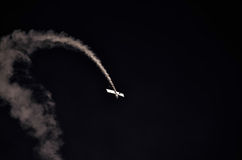 Action in the sky during an airshow Royalty Free Stock Photography