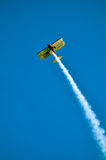 Action in the sky during an airshow Royalty Free Stock Photo