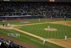 Action sous tension Yankee Stadium 2009 ALCS image libre de droits