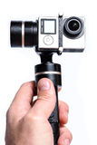 Action sport camera Royalty Free Stock Image