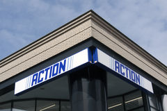 Action store Stock Photo