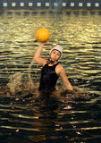 Action swimmer Stock Images
