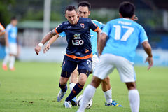 Action In Thai Premier League Royalty Free Stock Photo