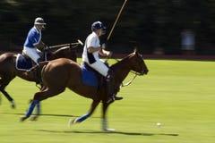 Action tirée d'une allumette de polo image stock