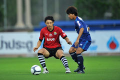 Action in Toyota league cup 2011 Royalty Free Stock Photos