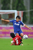 Action in Toyota league cup 2011 Stock Photo