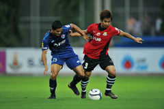 Action in Toyota league cup 2011 Stock Images