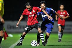 Action in Toyota league cup 2011 Stock Photos
