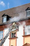 Action week of the Bavarian fire brigades 2018 Stock Images
