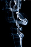 Actions of aromatic smoke sticks Royalty Free Stock Photos
