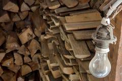 Actions de bois de chauffage photos libres de droits