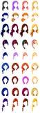 Actions de cheveux Image libre de droits