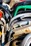 Actions de vieilles pièces de débris de voiture Image libre de droits