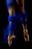 Actitud de la danza - piernas de Ballarena Fotografía de archivo