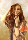 Actitud de la mujer joven Foto de archivo libre de regalías