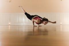 Actitud de la yoga Imagen de archivo