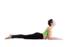 Actitud de la yoga de la esfinge Imagen de archivo libre de regalías