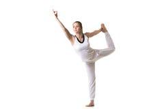 Actitud de la yoga de Shiva del baile Fotos de archivo