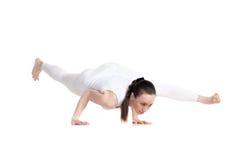 Actitud de la yoga dedicada a Sage Koundinya II Imagenes de archivo
