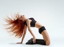 Actitud del bailarín Fotos de archivo