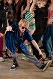 Actitud del baile de rotura Imagenes de archivo