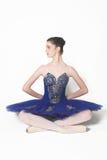 Actitud del ballet moderno Fotos de archivo