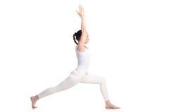 Actitud del guerrero 1 de la yoga Fotos de archivo libres de regalías