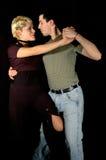 Actitud del tango fotos de archivo libres de regalías