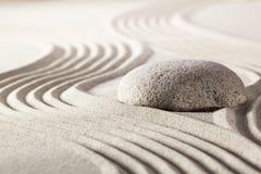 Actitud del zen que hace frente a desafío Imagen de archivo