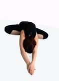 Actitud en yoga Imagen de archivo