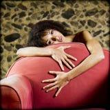 Actitud sensual. Foto de archivo libre de regalías